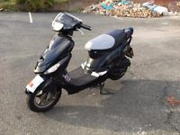 2009 BT50 50cc Scooter, 50cc Moped, 50cc Scooter, 50cc Ped, full MoT