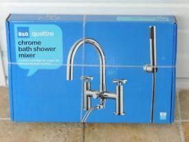Chrome bath/Shower mixer set