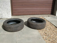 Two part used tyres from Ford B-max (winter tyres on vehicle when sold)