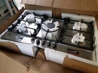 NEW NEFF T29DS69N0 5 BURNER 90 CM STAINLESS STEEL GAS HOB