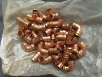 bag of yorkshire fittings 15mm