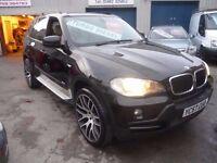 BMW X5 SE 3.0D Auto,4x4,FSH,full MOT,full cream nappa leather interior,runs and drives well