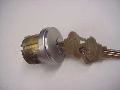 Schlage 1-18 Mortise Lock Cylinder Nickle Finish Used