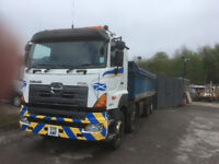 HINO 700 32000kg steel body insulated tipper