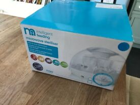 Mothercare microwave steriliser pod system brand new in box