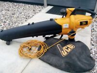 JCB LEAF BLOWER/VACUUM 2400w