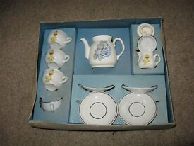 Vintage Playtime Tea Set