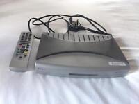 Digital TV Receiver with Remote