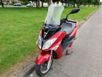 *Delivery Possible* Sym Joyride 200EFI Evo Motorcycle Maxi Scooter 2600 miles 1 year MOT 2015 model