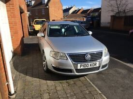 VW PASSAT B6 LOW MILLAGE-CAMBELT,CLUTCH CHANGED IN 2017 WITH PROOF