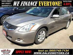 2011 Nissan Altima SL 2.5L 118KM 1 OWNER LEATHER SUNROOF