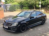 60/2011 MERCEDES BENZ C63 AMG 6.3 AUTOMATIC FACELIFT 507 EDITION EXTRAS FULLY LOADED S3 GOLF R M135I