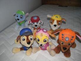 Bundle Paw patrol Soft Toy