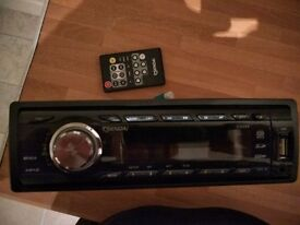 Sendai Cd889 stereo usb/Aux and remote