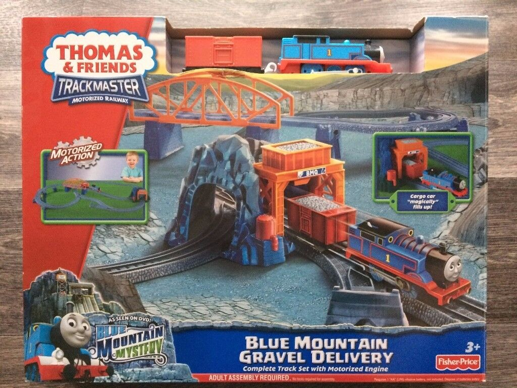 Thomas & Friends, Trackmaster Motorised Railway – Blue Mountain Gravel Delivery.