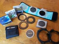 Lens filters and filter holders for DSLR Camera - Cokin, HOYA, etc *OPEN TO OFFERS*