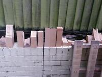 Free fire brick offcuts