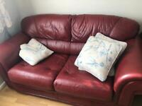 2 seater sofa bed , armchair and footstool from Klaussner