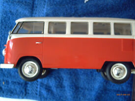 VW 1962 CLASSICAL BUS 1/16 SCALE R/C