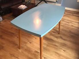 Awesome blue Formica table