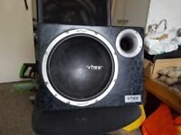 800 watt amplifier and integrated subwoofer. . . I will delete the ad when it sells