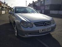 Mercedes CLK 240 Manual 2.6 Petrol 2003 Avantgarde 2dr £1790 ONO
