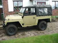 land rover series 2 lightweight