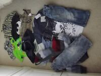 Lovely Boys Bundle Clothes 3-4 years Some new with tags