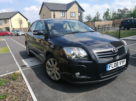 TOYOTA AVENSIS 2.0 TR D4D WITH SATELLITE NAVIGATION