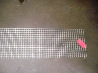 iron mesh sale(mild steel and galvanised) 1 inch and 2 inch square .various lengths
