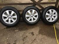 VW wheels & tyres extra load