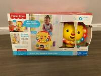 Fisher Price 3 in 1 lion ride on - like new!