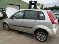 ford fiesta 1.4 tdci parts from a 2008 car 5 door silver giha full leather intera silver