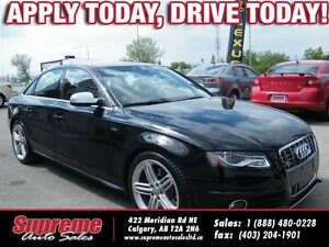 2012 Audi S4 3.0L SUPERCHARGED/QUATTRO, AWD/6SPEED/SUNROOF