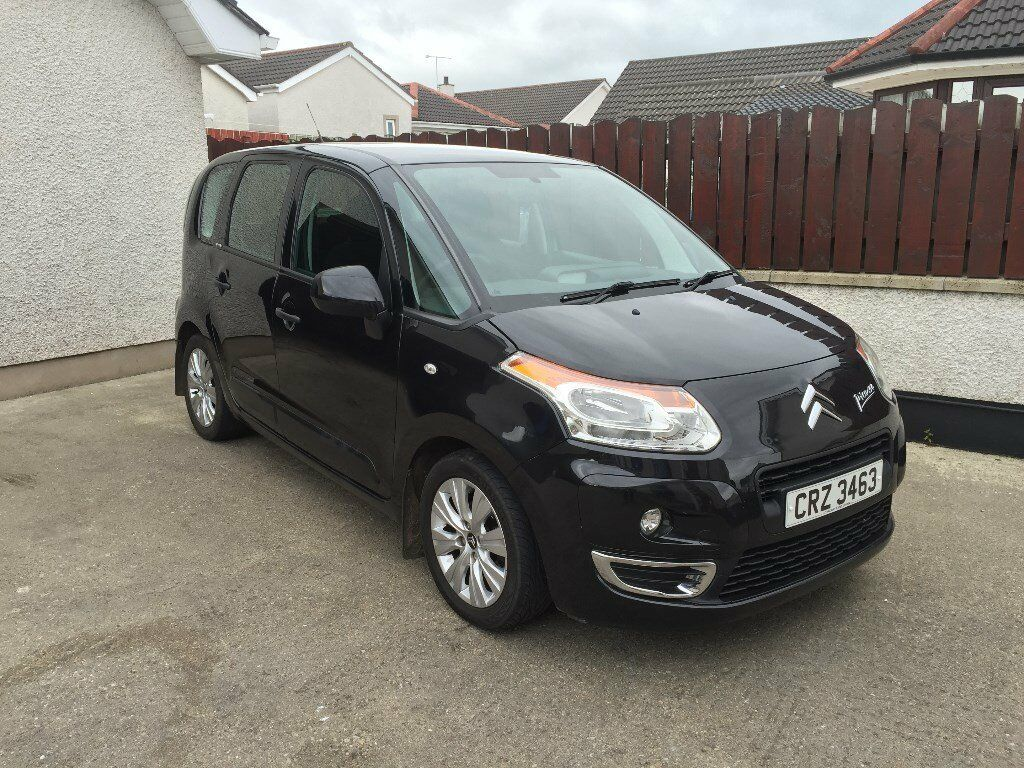 2011 Citroen C3 Picasso 1.6 hdi 65k one owner full service history