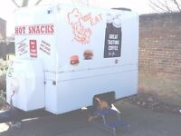 Catering Trailer Burger Van Refurbished Very Good Condition and Ready To Trade