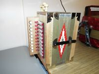 This accordion is like new quick sale £120
