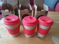 OLPRO Husk Travel Mugs