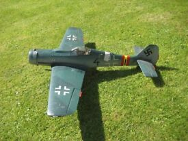 Model Scale R/C Aircraft ME109 MAJOR CLEAR OUT - COLLECTION ONLY