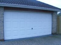 Electrically Operates Double Garage Door W425cm H195cm