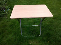 folding table for camping
