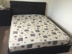 King bed and mattress for sale- £50
