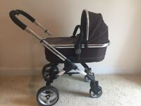 iCandy Peach Blossom toddler/baby stroller and carry cot