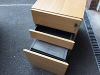 Small filing cabinet. Fab little under desk filing cabinet with document hangers too