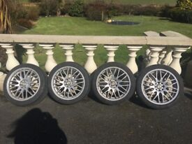 17 inch Alloy Wheels & Tyres