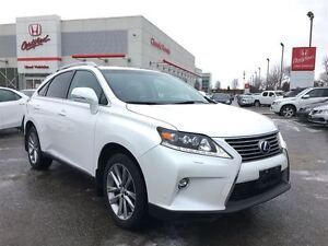 2015 Lexus RX 450H HYBRID | NAVI | LEATHER | CLEAN CARPROOF | AW
