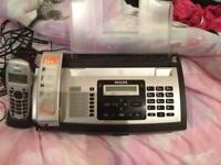 Philips fax machine