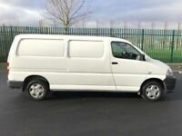Toyota Hiace 2009 Lwb 120bhp 1 Owner Immaculate Condition