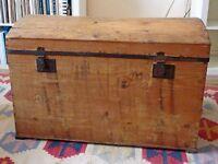 Large storage chest/ trunk/ blanket box