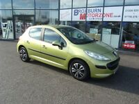 2007 07 PEUGEOT 207 1.4 S 5d 73 BHP **** GUARANTEED FINANCE ****